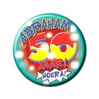 Paperdreams Paperdreams - Button - Klein - 50 Jaar - Abraham