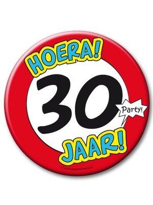 Paperdreams Button - 30 Jaar - Groot
