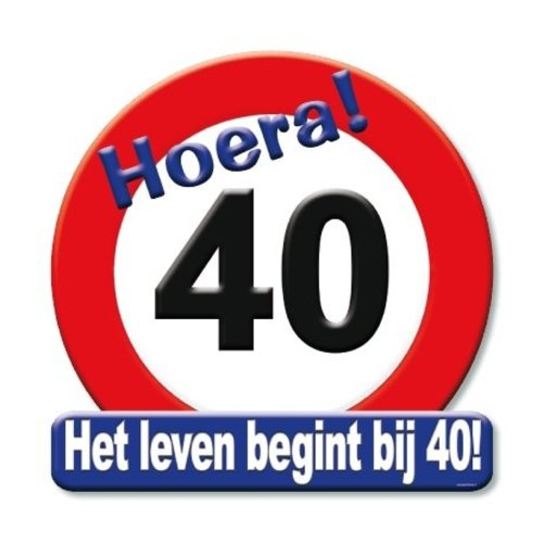 Paperdreams Huldebord - 40 Jaar