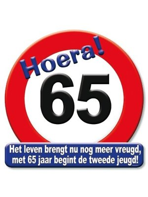 Paperdreams Huldebord - 65 Jaar