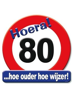 Paperdreams Huldebord - 80 Jaar