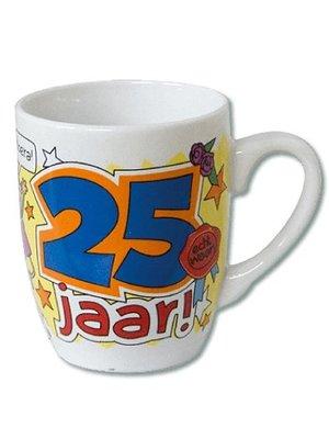 Paperdreams Mok - 25 Jaar - Cartoon