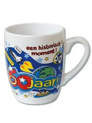 Paperdreams Mok - 60 Jaar - Cartoon