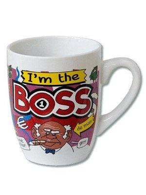 Paperdreams Mok - Big boss - Cartoon