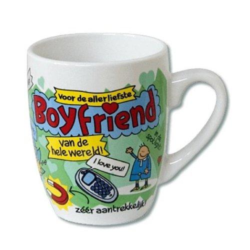 Paperdreams Mok - Boyfriend - Cartoon