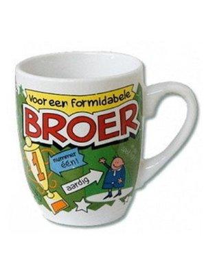 Paperdreams Mok - Broer - Cartoon