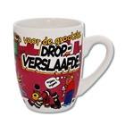 Paperdreams Paperdreams - Mok - Cartoon - Drop verslaafde