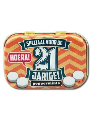 Paperdreams Paperdreams - Retro mints - 21 Jarige