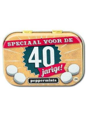 Paperdreams Paperdreams - Retro mints - 40 Jarige