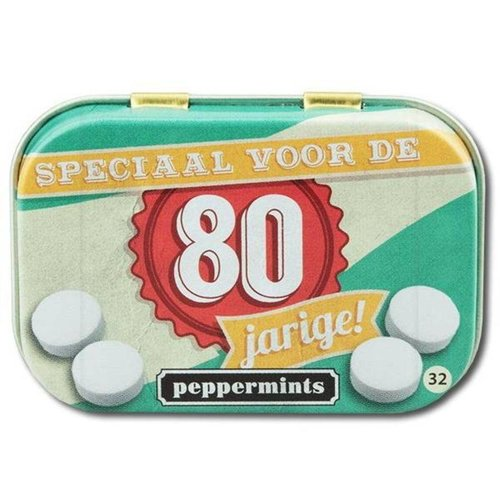 Paperdreams Paperdreams - Retro mints - 80 Jarige