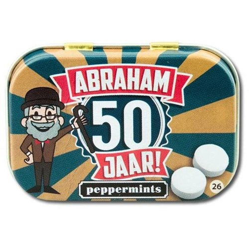 Paperdreams Paperdreams - Retro mints - Abraham 50 jaar