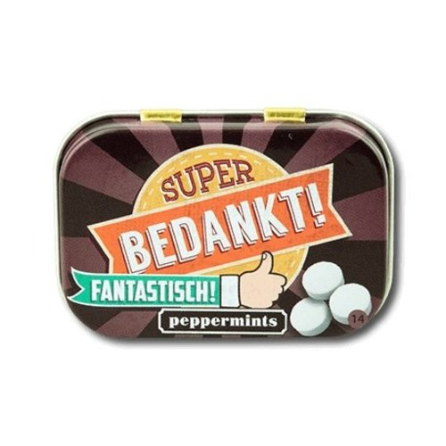 Paperdreams Paperdreams - Retro mints - Bedankt