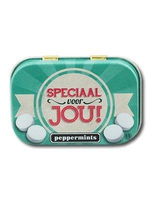 Paperdreams Pepermuntblikje - Speciaal voor jou - Retro mints