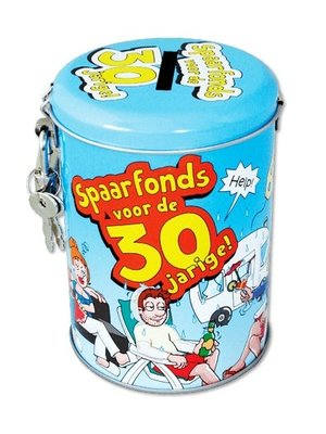 Paperdreams Spaarpot - 30 Jaar