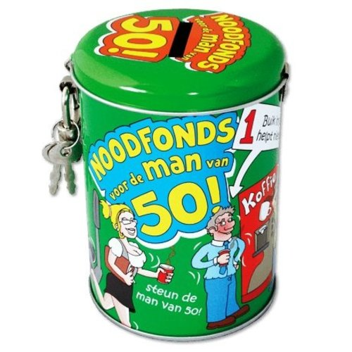 Paperdreams Spaarpot - 50 Jaar - Man