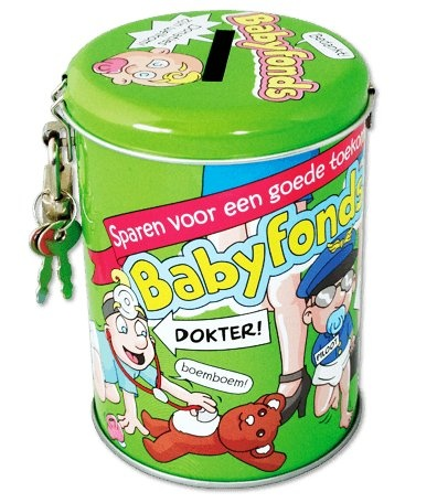 Spaarpot - Babyfonds