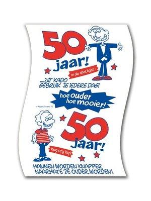 Paperdreams Paperdreams - Toiletpapier - 50 Jaar - Man