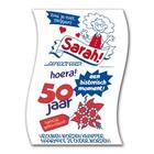 Paperdreams Paperdreams - Toiletpapier - 50 Jaar - Sarah