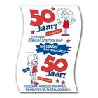 Paperdreams Paperdreams - Toiletpapier - 50 Jaar - Vrouw