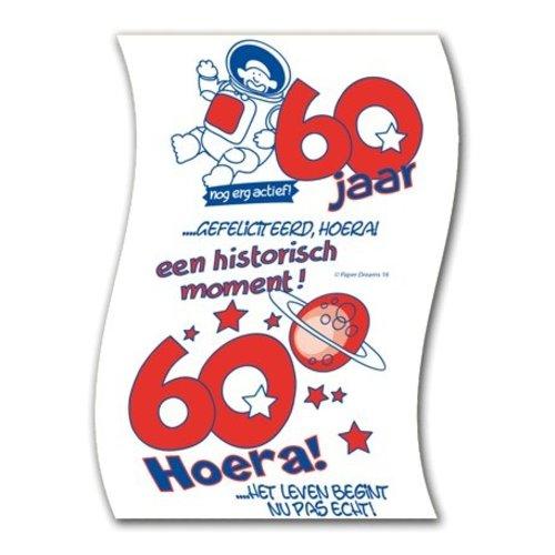 Paperdreams Paperdreams - Toiletpapier - 60 Jaar