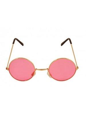 Partychimp Partychimp - Bril - Hippie - Roze