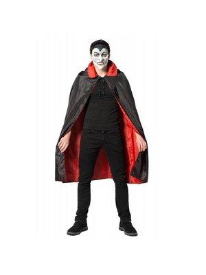 Partychimp Cape - Dracula - Zwart & rood - One size