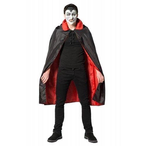 Partychimp Partychimp - Cape - Dracula - Rood/Zwart - one size