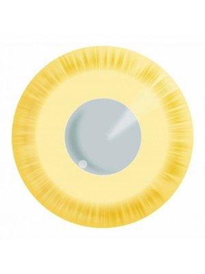 Partychimp Partychimp - Gekleurde lenzen - Avatar yellow - 3mnd.