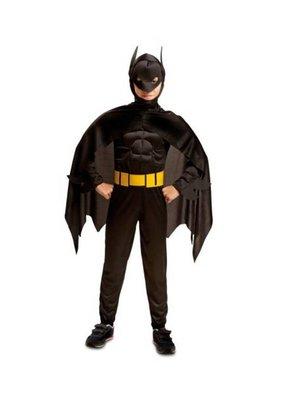 Partychimp Kostuum - Batman - Gespierd - mt.140