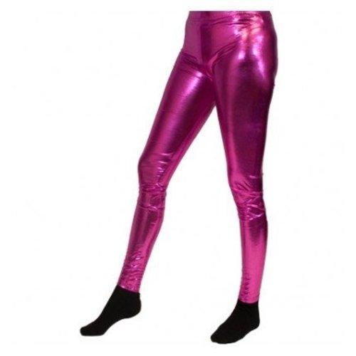 Partychimp Partychimp - Legging - Fuchsia - Maat L/XL