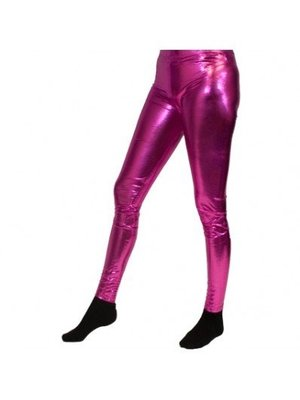 Partychimp Legging - Fuchsia / roze - S/M