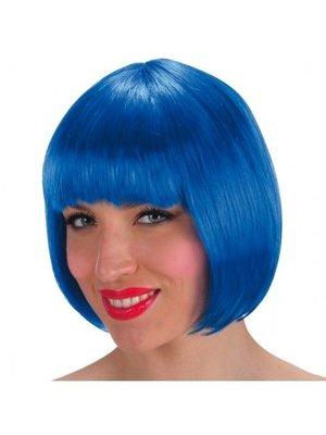 Partychimp Partychimp - Pruik - Lovely - Blauw