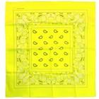 PartyXplosion PartyXplosion - Bandana - Fluor geel - 35x35cm
