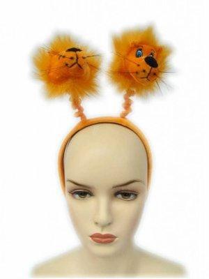PartyXplosion Diadeem - Leeuwen - Oranje