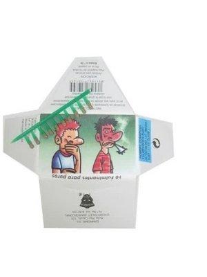 PartyXplosion Fopartikel - Knalpitjes - Sigaret - 10st. in 1 pakje