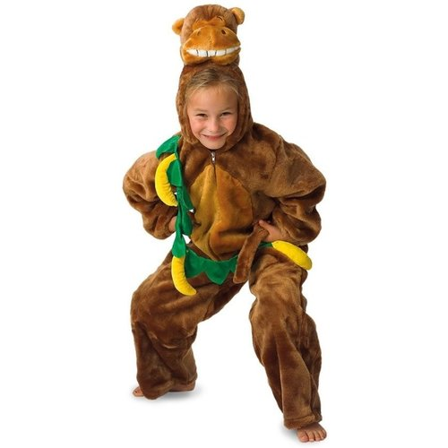 PartyXplosion Kostuum - Aap met bananen - mt.140