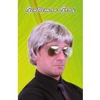 PartyXplosion PartyXplosion - Pruik - Johan - Grijs
