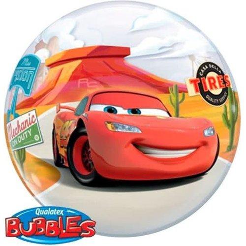 Qualatex Qualatex - Folieballon - Bubble - Cars - Zonder vulling - 56cm