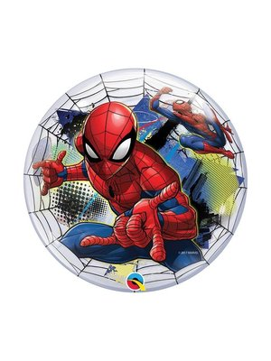 Qualatex Qualatex - Folieballon - Bubble - Spiderman - Zonder vulling - 56cm