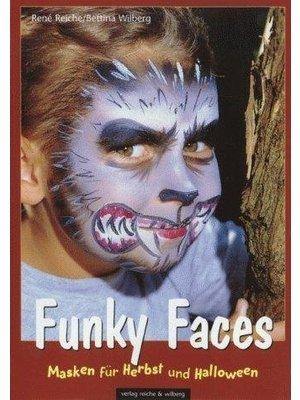 Reiche & Wilberg - Schminkboek - Funky faces