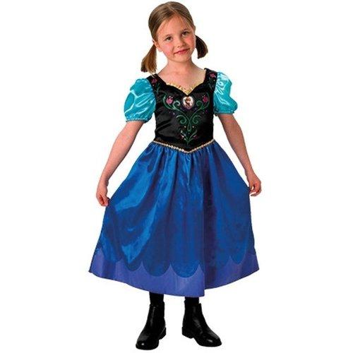Rubies Rubies - Kostuum - Frozen - Anna - mt.116