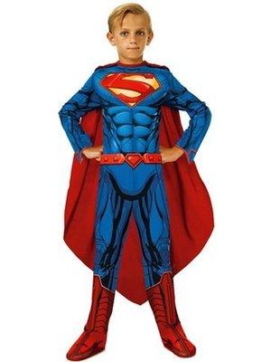 Rubies Rubies - Kostuum - Superman - Gespierde look - mt.128/134