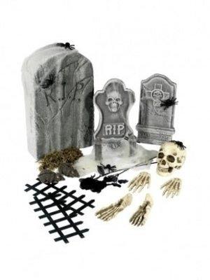 Smiffys Smiffys - Grafstenenset - Halloween - 24dlg.