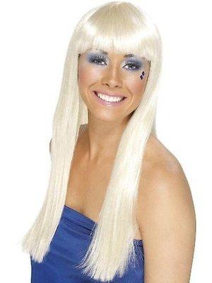 Smiffys Pruik - Blond - Dancing queen - Lang