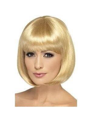 Smiffys Pruik - Donker blond - Partyrama - Bobline