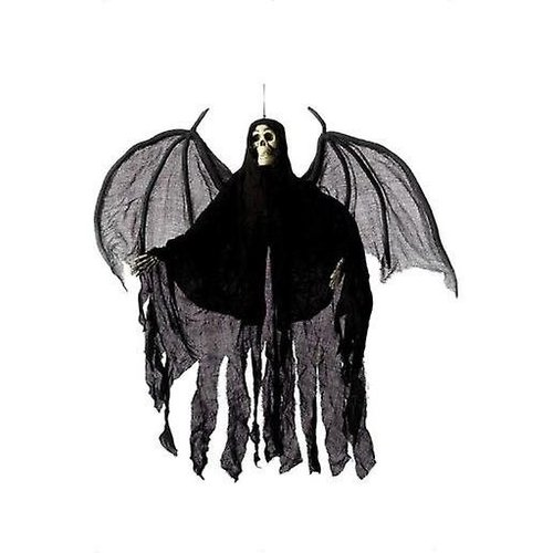 Smiffys Decoratief skelet - Hangend - Met vleugels