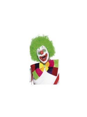 Smiffys Strik - Felgekleurd - Clown - Groot