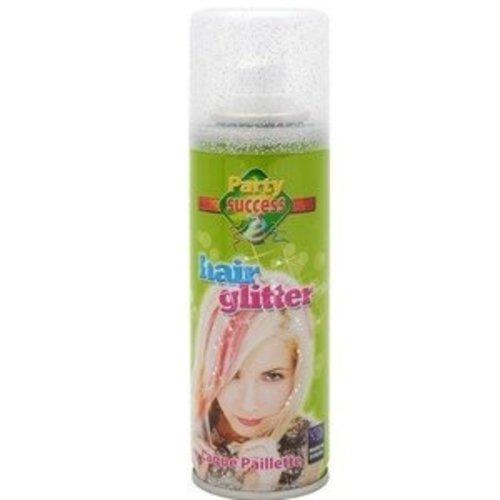 Witbaard Haarspray - Glitter - Zilver - 125ml