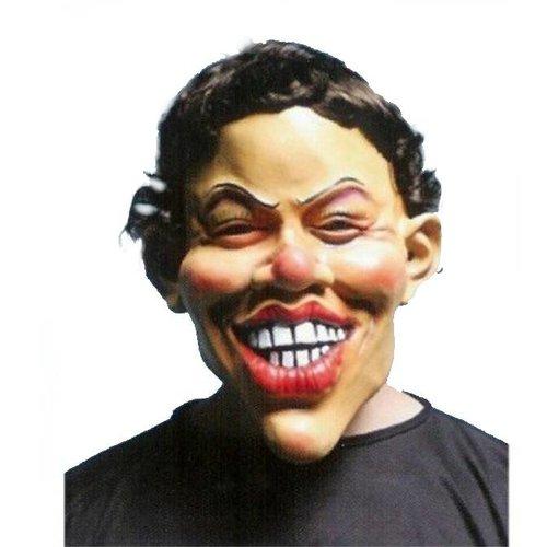 Witbaard Masker - Grote glimlach - Jantje
