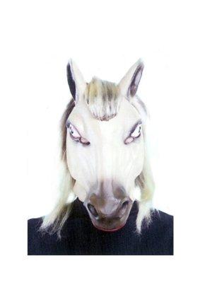 Witbaard Masker - Paard - Lichtbruin